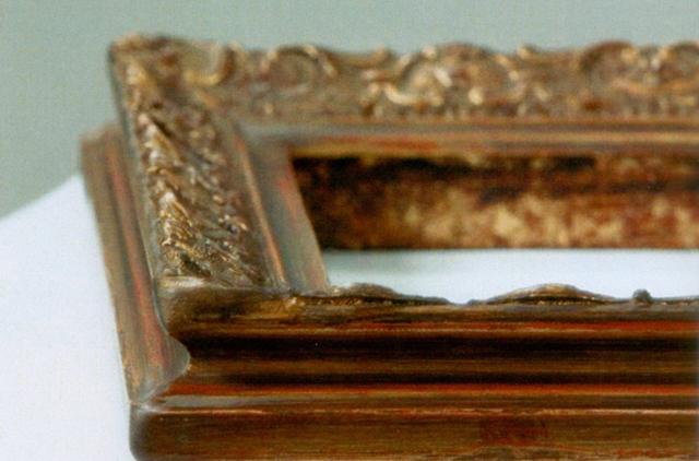 Cornici classiche: oro e argento